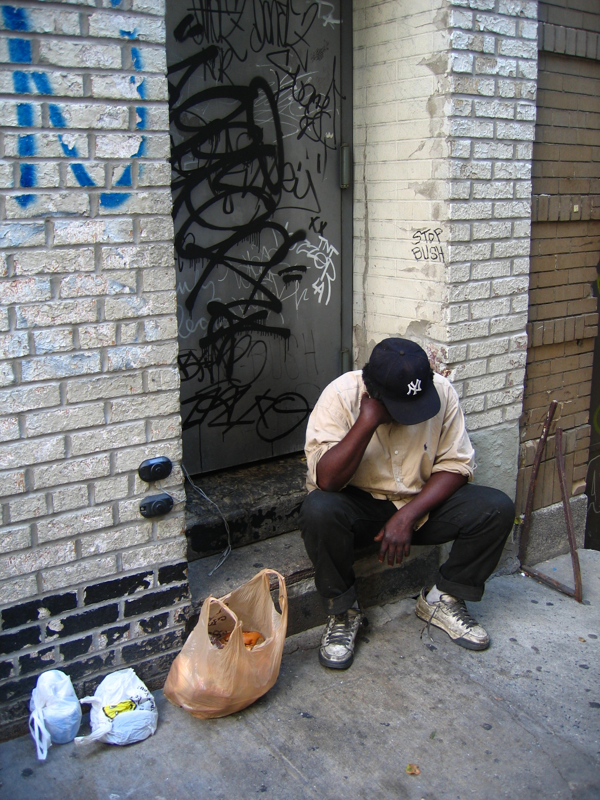 A look at the problems of growing number of homeless people in america